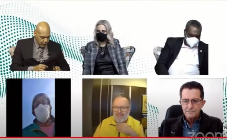Sispesp e lidernaças participam de entrevista ao vivo